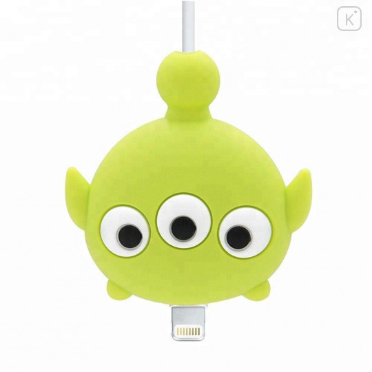 Tsum Tsum Little Green Men Alien Phone Charger Cable Protector - 2