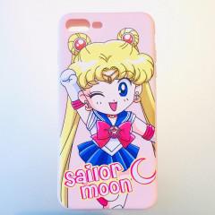 Sailor Moon Comic Pink Phone Case - iPhone 7 & iPhone 8