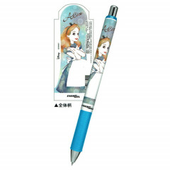 Japan Disney Pentel EnerGel Black 0.5mm Pen - Alice in Wonderland