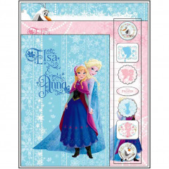 Japan Disney Frozen Letter Set - Elsa & Anna