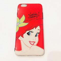 Red Ariel Face Phone Case - iPhone X & iPhone Xs