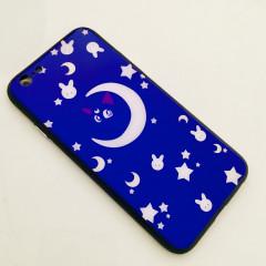 Sailor Moon Cat Luna Holographic Glasses Phone Case - iPhone XR
