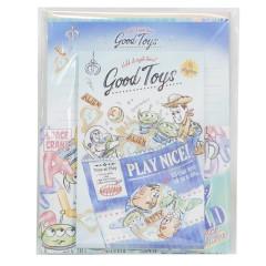 Japan Disney Letter Envelope Set - Toy Story Good Toys Play Nice!