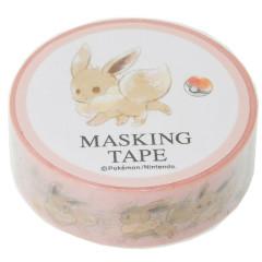 Pocket Monster Pokemon Japanese Washi Paper Masking Tape - Eevee