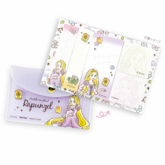 Japan Disney Store Rapunzel Sticky Memo & Folder Set