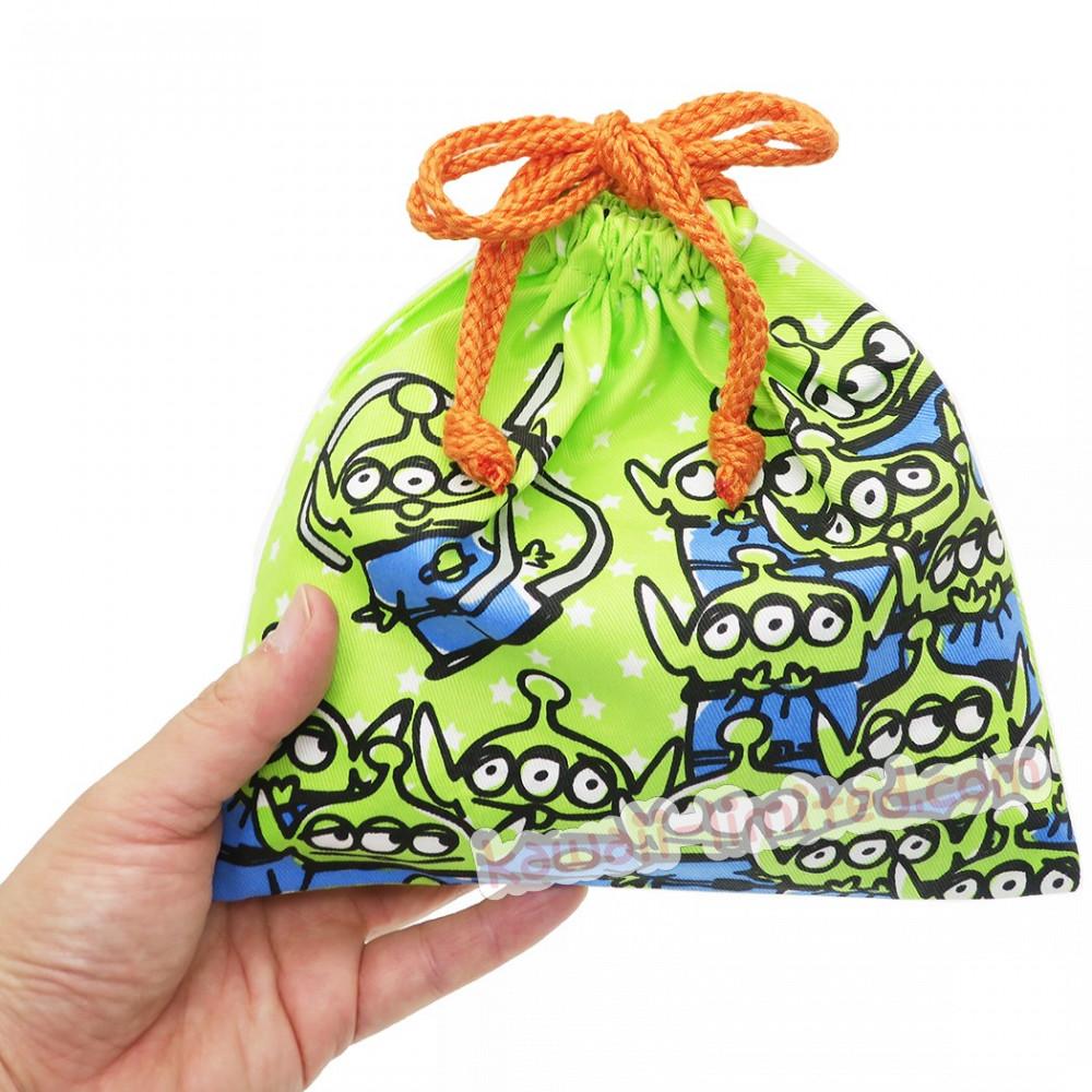 An Disney Drawstring Bag Grab Little Green Men Alien