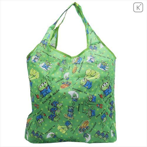 Toy Story Little Green Men Alien Japan Disney Cotton Tote Bag Shopping Bag
