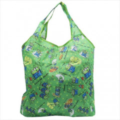 Japan Disney Eco Shopping Bag - Toy Story Alien Little Green Men Alien