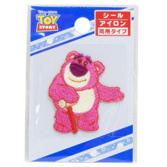 Japan Disney Embroidery Applique Patch - Toy Story Lotso Bear