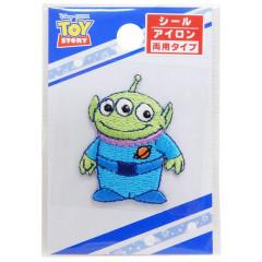 Japan Disney Embroidery Applique Patch - Toy Story Little Green Men Alien