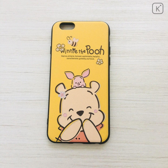 Smile Winnie the Pooh & Piglet Deep Yellow Phone Case - iPhone 6 & iPhone 6s - 1