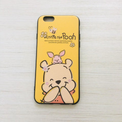 Smile Winnie the Pooh & Piglet Deep Yellow Phone Case - iPhone 6 & iPhone 6s
