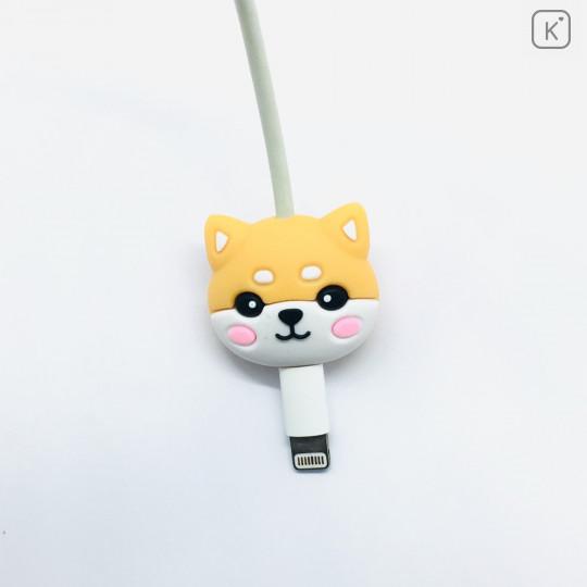 Cartoon Shiba Inu Phone Charger Cable Protector - 2