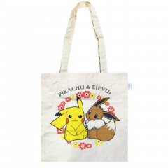 Japan Pokemon Shopping Bag - Pikachu & Eevee