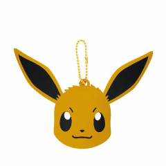 Japan Pokemon Hand Mirror - Eevee with Ball Chain