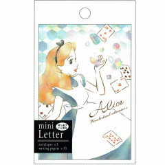 Japan Disney Letter Envelope Set - Alice in Wonderland My Little Dream