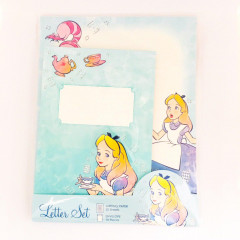 Japan Disney Letter Envelope Set - Alice in Wonderland Jewelry