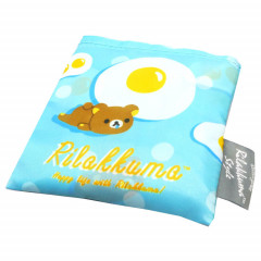 Japan Rilakkuma Eco Shopping Bag - Happy life with Rilakkuma Blue