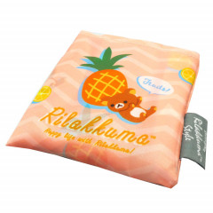 Japan Rilakkuma Eco Shopping Bag - Happy life with Rilakkuma Orange