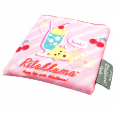 Japan Rilakkuma Eco Shopping Bag - Happy life with Rilakkuma Pink