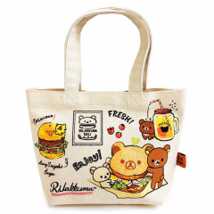 Sax-X Rilakkuma Canvas Tote Bag - Deli