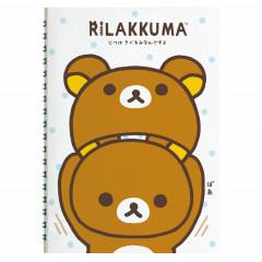 San-X Rilakkuma Notebook - Kiguramin B6