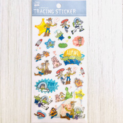 Japan Disney Sticker - Toy Story Characters Tracing Sticker