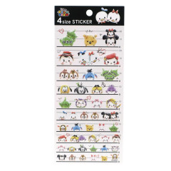 Japan Disney 4 Size Sticker - Tsum Tsum