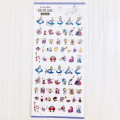 Japan Disney Kiratto Mark Seal Sticker - Alice in Wonderland