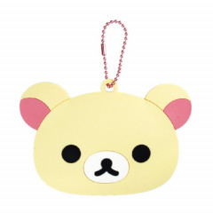Japan San-X Rilakkuma Hand Mirror - Korilakkuma with Ball Chain