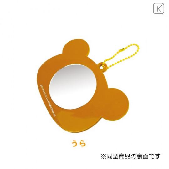 Japan San-X Hand Mirror - Korilakkuma with Ball Chain - 2