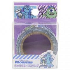 Disney Japanese Washi Paper Masking Tape - Monster University Mike & Sulley