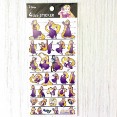 Japan Disney 4 Size Sticker - Princess Rapunzel