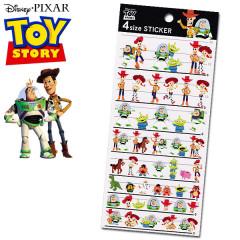 Japan Disney 4 Size Sticker - Toy Story