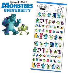 Japan Disney Kiratto Mark Seal Sticker - Monster University