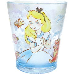 Japan Disney Alice in Wonderland Acrylic Cup Clear Airy