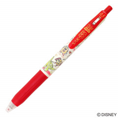 Japan Disney Toy Story × Zebra Sarasa Clip 0.5mm Gel Pen - Red