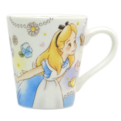 Japan Disney Pottery Mug - Alice in Wonderland