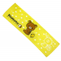 Japan San-X Rilakkuma Fluffy Towel - Yellow