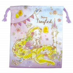 Japan Disney Drawstring Bag - Princess Rapunzel Dreamy