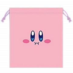 Japan Nintendo Drawstring Bag - Kirby Face