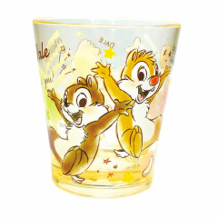 Japan Disney Chip & Dale Acrylic Cup Clear Airy
