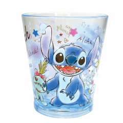 Japan Disney Stitch Acrylic Cup Clear Airy