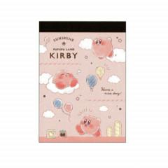 Japan Nintendo B8 Mini Notepad - Kirby Pink Sky