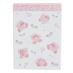 Japan Nintendo B8 Mini Notepad - Kirby White Cloud