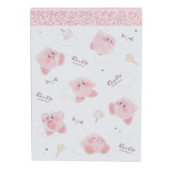 Japan Nintendo Notepad Memo - Kirby White Cloud