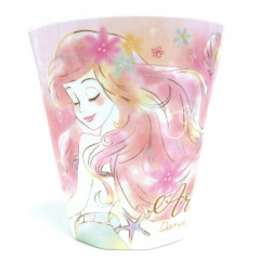 Japan Disney Princess Acrylic Cup  - Little Mermaid Ariel Dreamy