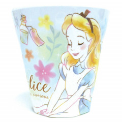 Japan Disney Princess Acrylic Cup - Alice in Wonderland Dreamy
