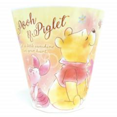 Japan Disney Acrylic Cup  - Winnie the Pooh & Piglet Dreamy