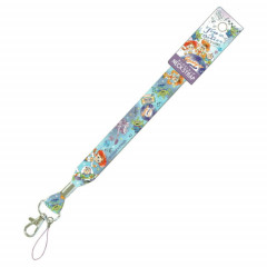 Japan Disney Neck Strap - Toy Story Characters Blue